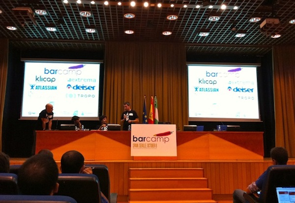 apertura evento barcamp spain 2011